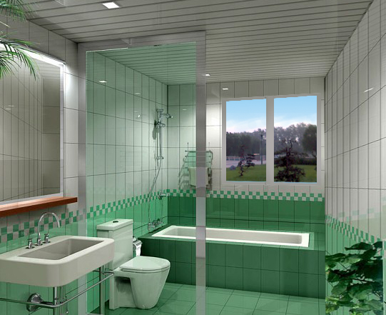 卫装修图片   93平三室两厅一卫客厅电视背景墙装修设计图 高清图片