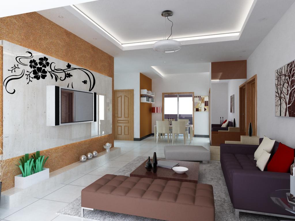 两室两厅装修效果图设计 高清图片