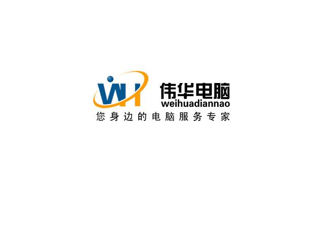 12306号-伟华电脑logo及名片设计-中标: 菜园屯[暂时冻结]